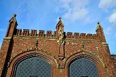 Friedland Gate - Neo-gothic Fortress 19Th Century. Kaliningrad (koenigsberg Before 1946), Russia