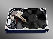 Turntable Hard Disk
