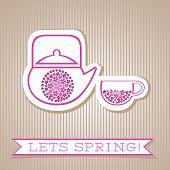 Motivation List Design With Flower Tea