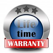 Life time warranty top quality product one years assurance and replacement best top quality guarantee guaranteed commitment