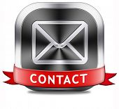 contact address button for feedback icon, mail us. Coordinates and address for customer support and