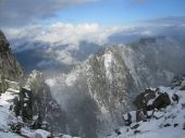 Wintery valley