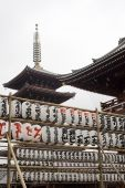 Paper Lanterns In Tokyo