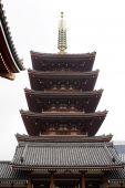 Pagoda In Tokyo