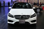 Nonthaburi - March 25: New Mercedes Benz E 300 Bluetec Hybrid On Display At The 35Th Bangkok Thailan
