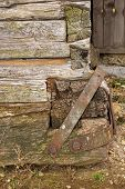 Reparations On Old Wooden Structure