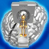 3D Medical Health Concept Brain Scan