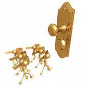 Many keys One Door Lock