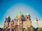 Retro Look Berliner Dom