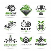 picture of time study  - Rally quality set of icons that can be used in studies concerning - JPG