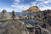 Rock formations on Madeira's (Portugal) coast