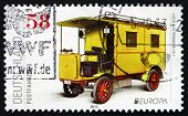 Postage Stamp Germany 2013 Lloyd Electric Car 1911
