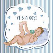 It's A Boy.