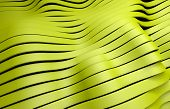 yellow plastic stripes background