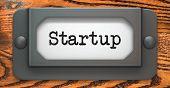 Startup - Concept on Label Holder.