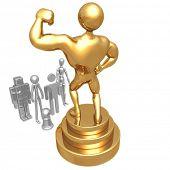 Golden Statue Envy