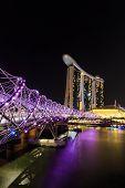 Singapore  Marina Bay  Night