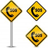 Sos Yellow Signs