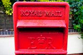 Royal mail box detail