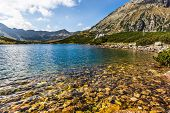 Summer In 5 Lakes Valley In High Tatra Mountains, Poland.
