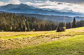 Mountains Landscape.tatra Mountains, Poland.
