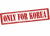 Only For Korea