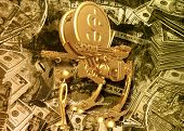 Gold Dollar Coin War Machine