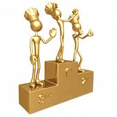 Golden Chef Baker Champions On Winners Podium