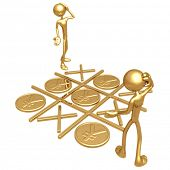 No Winners Gold Yen Coins