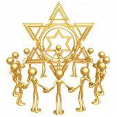 Star Of David Gathering