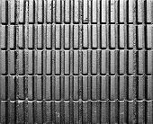 pic of cinder block  - Black cement block wall background texture pattern - JPG