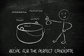 Funny Character Creating The Recipe For The Perfect Candidate