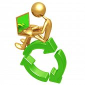 Recycling Networking Online
