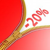Zipper With 20% Off