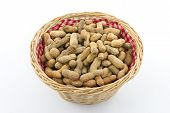 Basket With Peanuts
