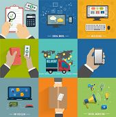 Seo, Social Media. Internet Shopping Process
