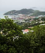 Harbor From St Thomas Hills