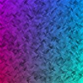 Triangles colored abstract background.