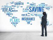image of economy  - Saving Finance Global Finance World Economy Concept - JPG