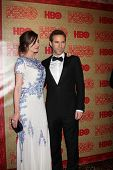 LOS ANGELES - JAN 12:  Emily Mortimer, Alessandro Nivola at the HBO 2014 Golden Globe Party  at Beverly Hilton Hotel on January 12, 2014 in Beverly Hills, CA