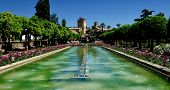 Gardens Of Alcazar Of The Christian Monarchs, Cordoba, Spain