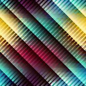 Geometric diagonal pattern with strikes.