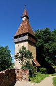 Biertan Fortress Tower In Transylvania