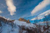 Mountain Day Winter