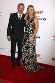 LOS ANGELES - FEB 2:  Kevin Costner, Christine Baumgartner at the AARP 14th Annual Movies For Grownups Awards Gala at a Beverly Wilshire Hotel on February 2, 2015 in Beverly Hills, CA