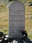 On Top Of The Col De La Cayolle