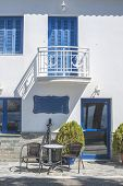 picture of greek  - Typical Greek house - JPG