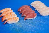 Prepare Japanese Sushi Rolls