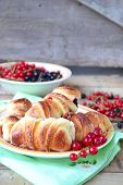 Buns With Currants. Selective Focus
