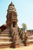 Temple Of Baktaphur City, Nepal